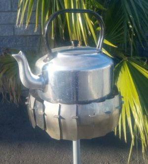 Gas Cooker Top Wind Protector with Kettle
