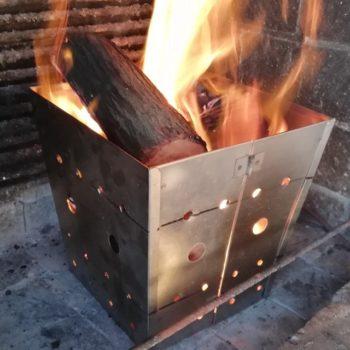 Swannie Portable Braai fire